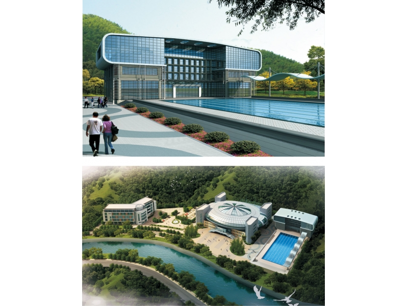 Zhejiang.Panan  The Swimming Pool of Sports Fitness Center